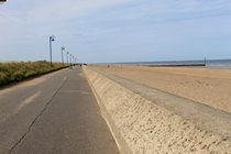 Miles of dog-friendly beaches walking from Sutton on Sea to Mablethorpe