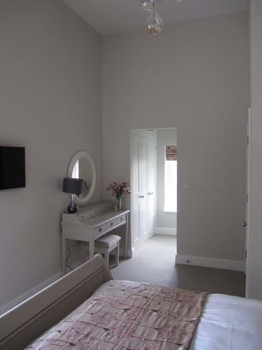Bedroom into Dressing Area