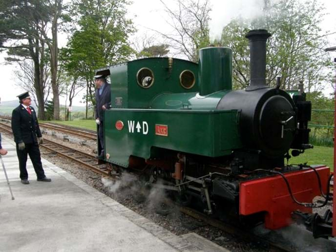 Woody Bay Station near Lynton