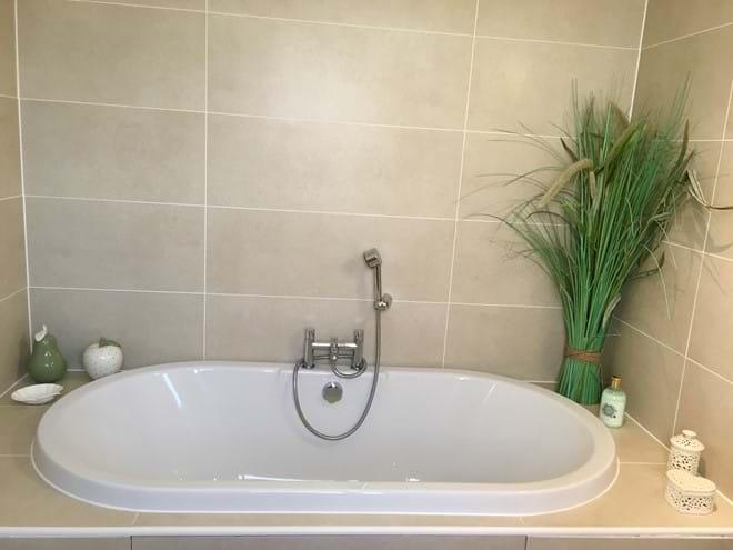 Huge bath