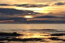 Winter sunrise at Seaton Point