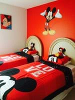 Mickey Mouse Twin Bedroom