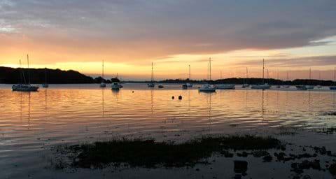 Sunset in Chichester Harbour