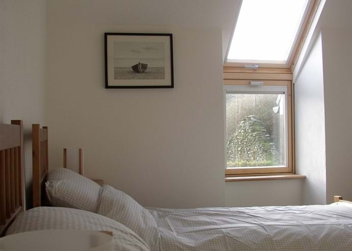 East bedroom - a twin room