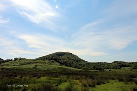 View of the Fairy Hill from Fairy Hill Cottage