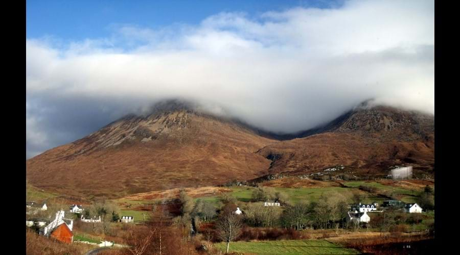 View from Window, Red Cuillin.