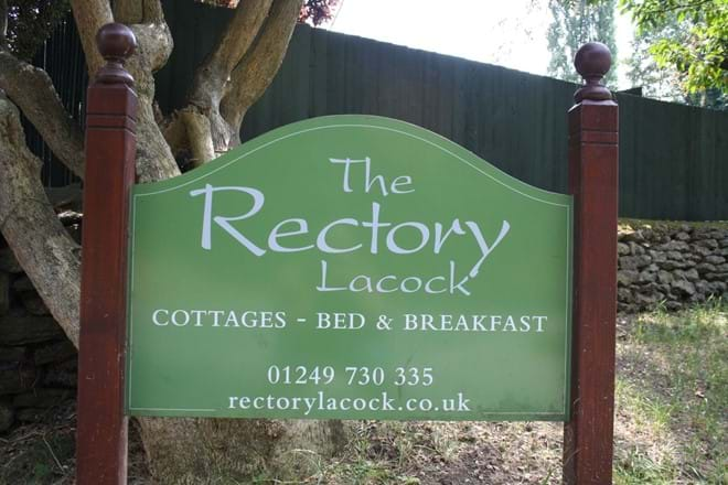The Entrance to The Rectory Lacock
