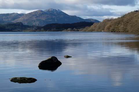 Loch Venachar and Ben Venue