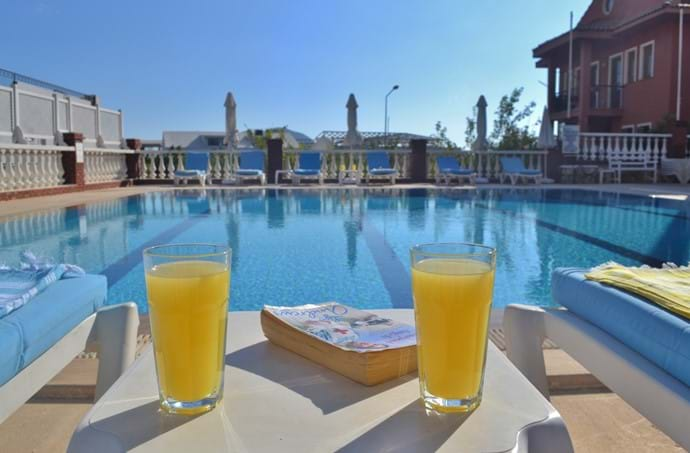The Nur Apartments are all about relaxation