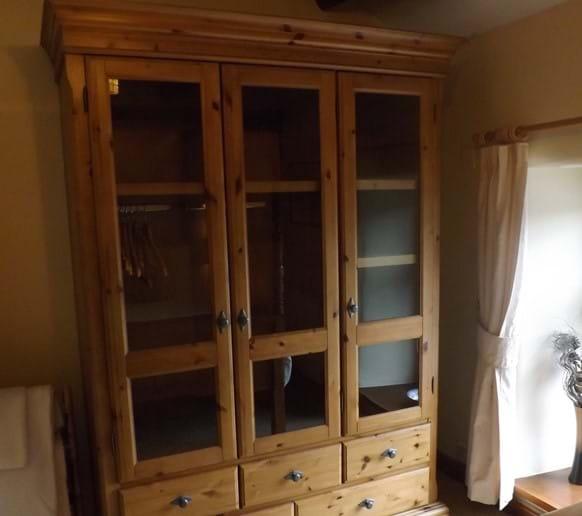 Shreiber wardrobe in master bedroom