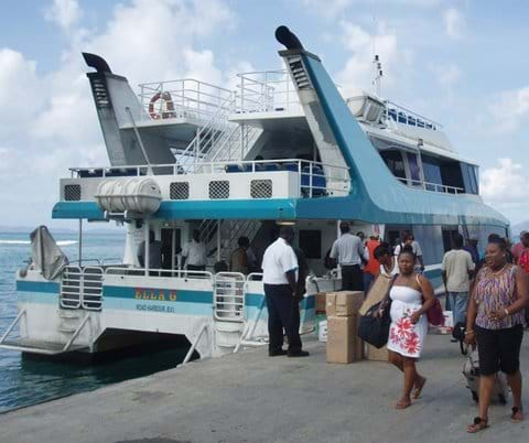 Take the Ferry over to The Baths on Virgin Gorda