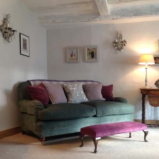 1st Floor Snug in our luxury holiday cottage in Lavenham