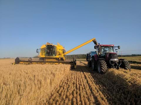 Harvest time in the Borders