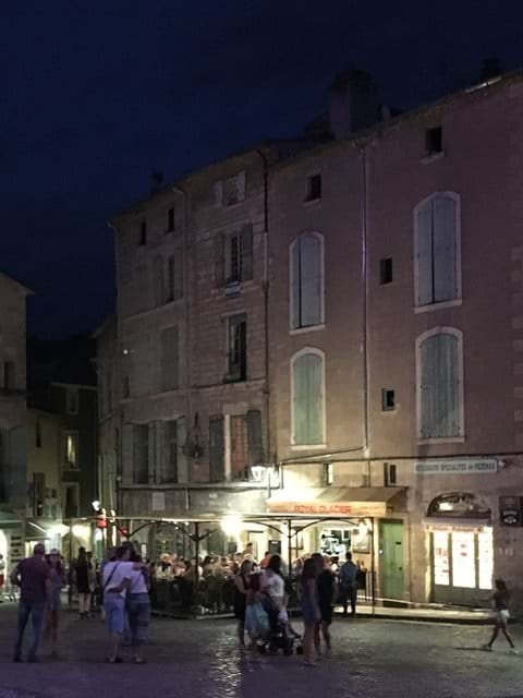 Restaurants and Wine bars abound in the old town