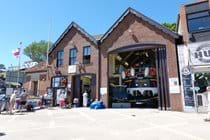 Filey lifeboat station.