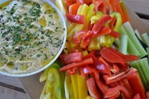 Summer lunch al fresco