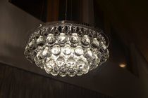 Arctic pear chandelier