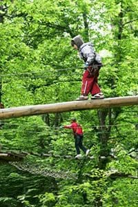 The Adventure Park from Brasov is also great for kids