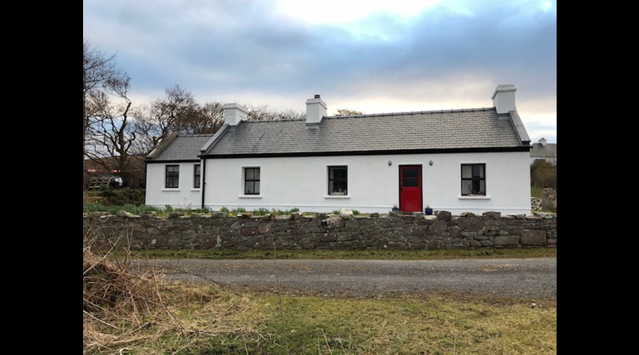 View of front of cottage