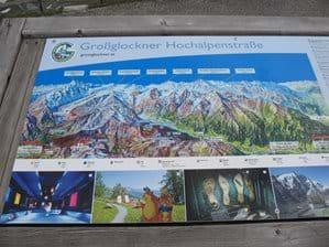 Information Board Grossglockner Hochalpenstrasse