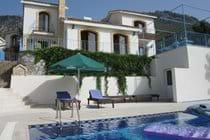 Carob Villa from the pool terrace
