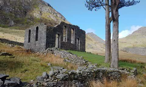 Cwmorthin Chapel ruins, near Blaenau Ffestiniog