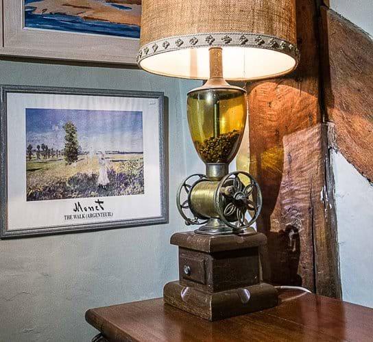 Coffee Grinder table lamp