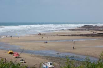 Cornish beach (Bude)