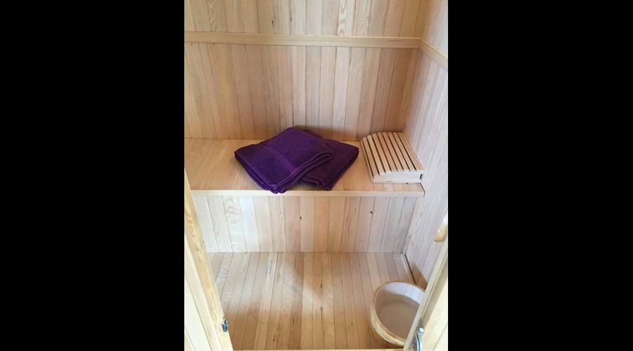 2 person sauna