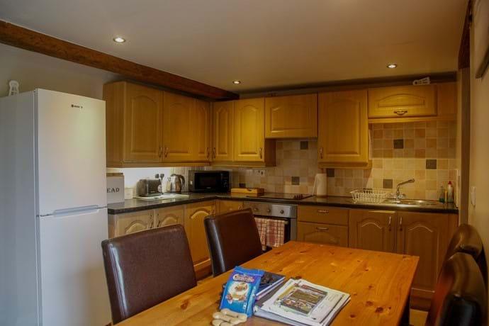 Laverock Lodge kitchen/dining area