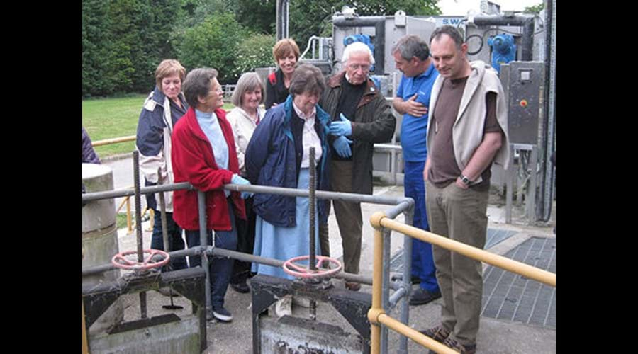 Sewage Treatment Works visit