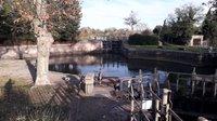 Canal du Midi Round lock Agde