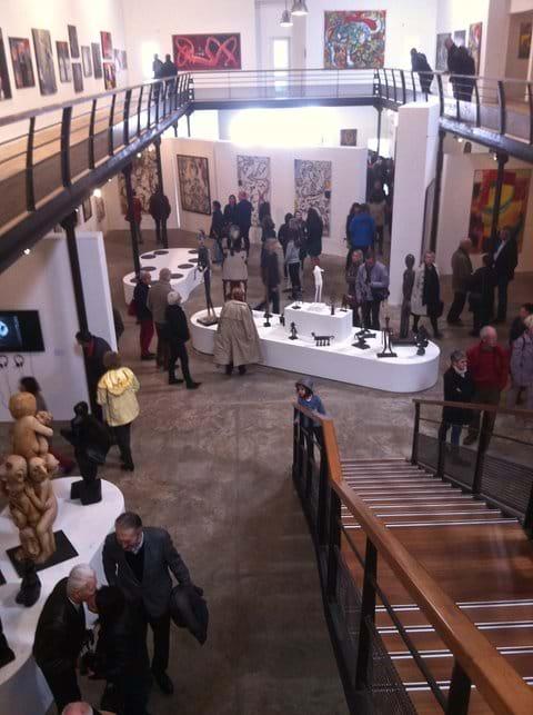 La Cooperative gallery is world class