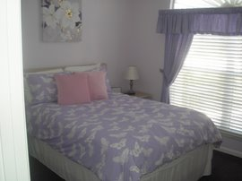 Front bedroom with double bed