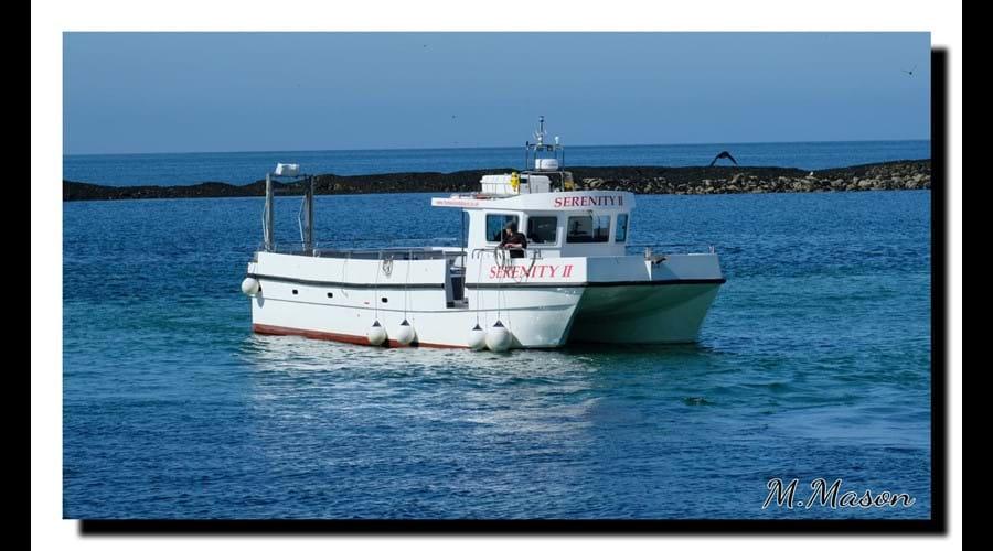 Fishing catamaran, Boulmer