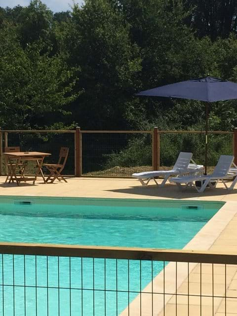 Large heated pool perfect for relaxing