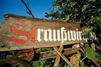 """ Straußwirtshaft"" Traditional Moselle Wine Producers Taverns"