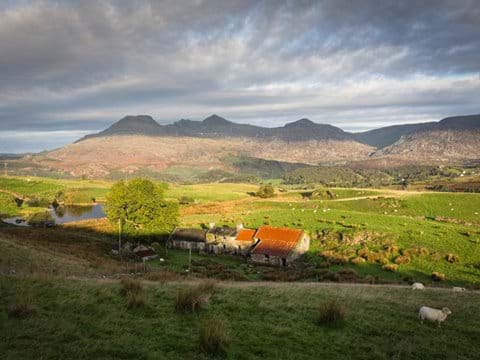 View to The Moelwyns from Llan Ffestiniog