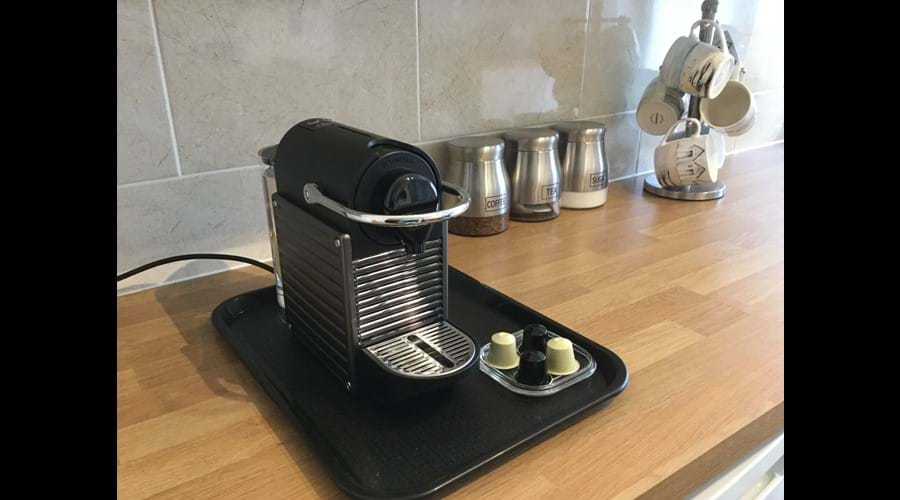 Nespresso coffee machine