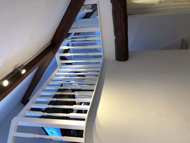 Galleried loft Bedroom (view from hallway)
