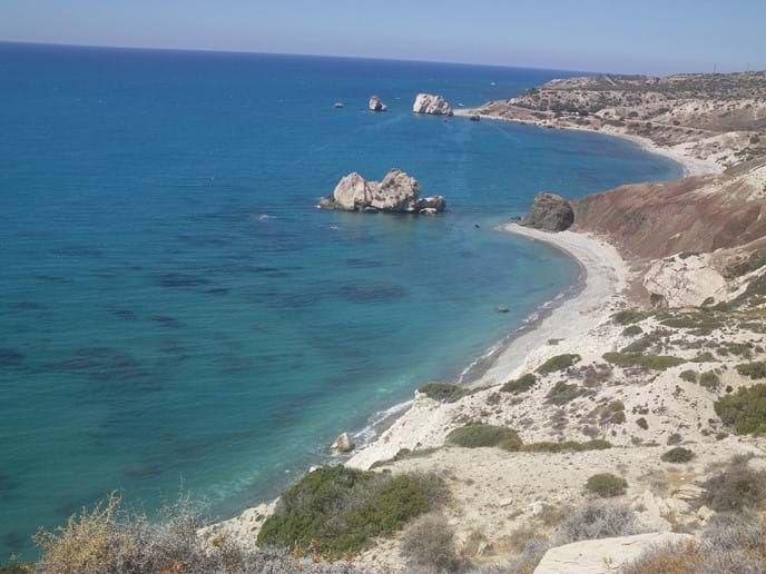 Aphrodites Birthplace (rock).  9km from Pissouri Village.