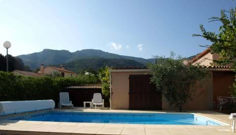 Heated Private Pool and Alberes View