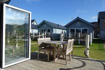Open up the bifold doors and sit on the south facing deck.