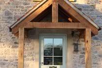 Porch and kitchen door