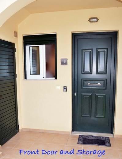 Front Entrance, Kitchen Window, & Storage Closet