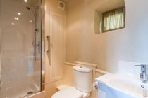 The Count House shower room