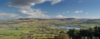 Combs and Blackwater Valley from Top Eccles - Mike Phillips Easter 2016