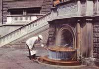 Hot spring in Acqui Terme