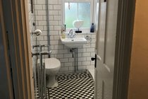 Newly remodelled victorian style bathroom
