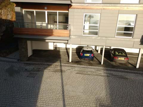 Under-croft parking